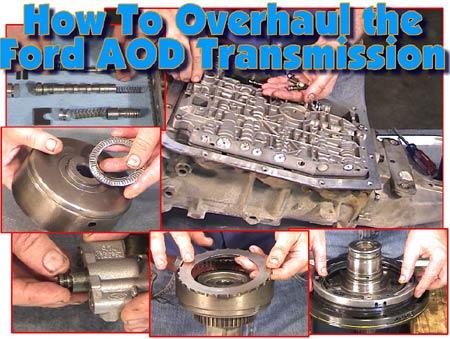 ford aod rebuild tools