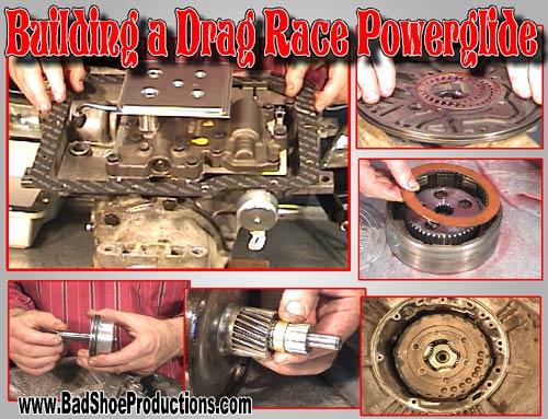racing powerglide transmission rebuild